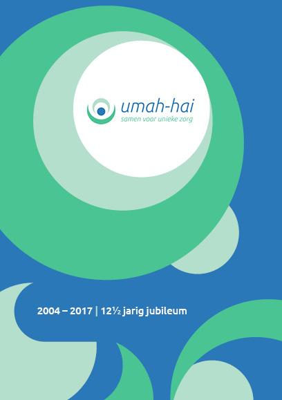 Omslag jubileumboekje Umah-Hai